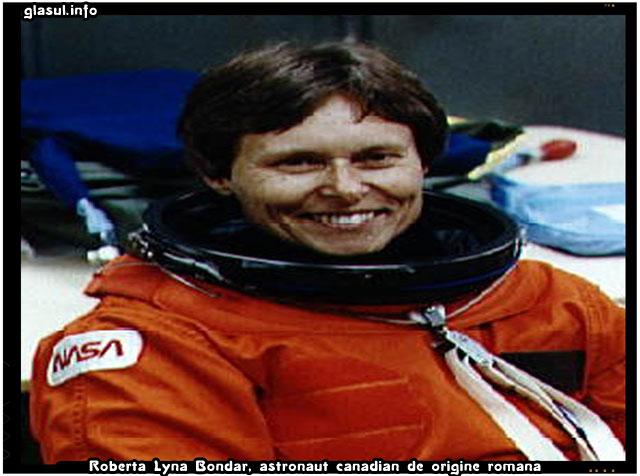 Un BONDAR în Cosmos. Un bondar românesc…, Roberta Lyna Bondar