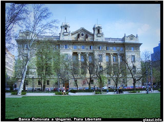Banca Nationala a Ungariei, Piata Libertatii, Budapesta