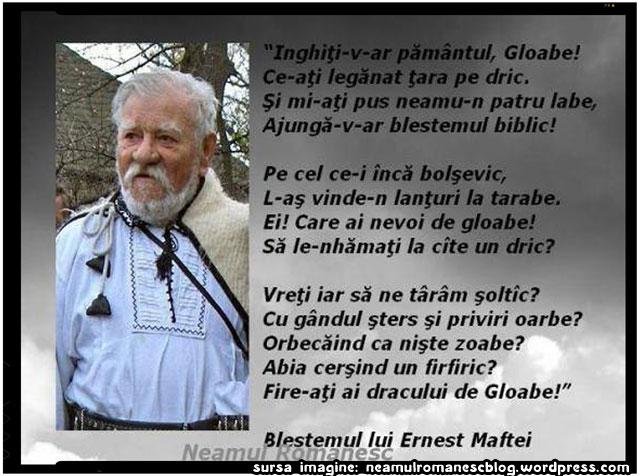 BLESTEMUL LUI ERNEST MAFTEI, sursa imagine: neamulromanescblog.wordpress.com