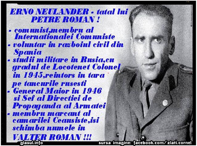 Apostolii lui Stalin inca mai fac victime, Erno Neulander, sursa foto: facebook.com/zlati.cornel