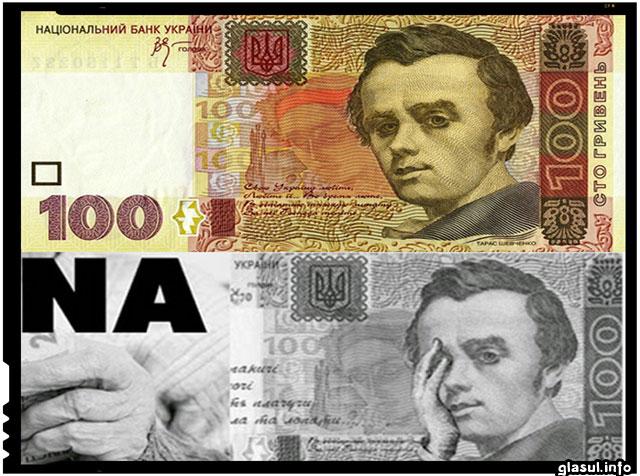 Moneda nationala a Ucrainei, grivna, se prabuseste, iar scumpirile iau amploare