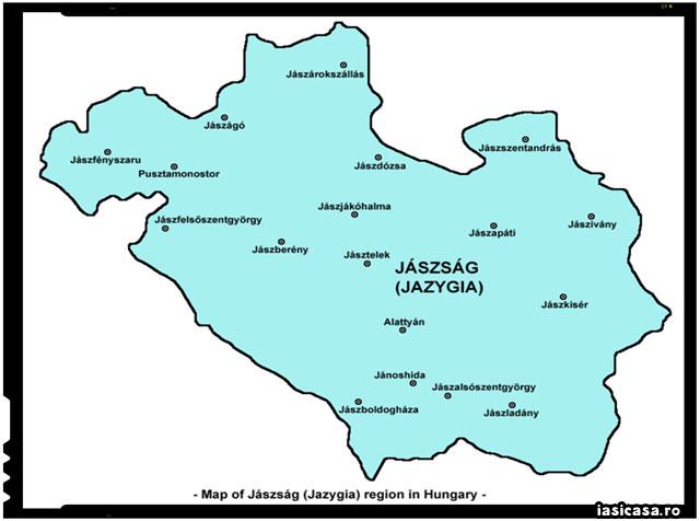 Care este legatura dintre orasul IASI si Regiunea Jászság din Ungaria? Efectele surprinzatoare ale maghiarizarii populatiei din Panonia., sursa imagine: iasicasa.ro