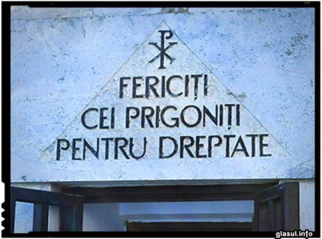Fiii si nepotii celor care au creat genocidul in anii 45-64 ne interzic sa cinstim memoria martirilor anticomunisti de la Sighet