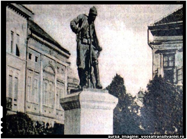 Monumentul Eroului Necunoscut din Satu Mare, demolat de autoritățile hortyste în 1940, va fi reconstruit , sursa imagine: voceatransilvaniei.ro