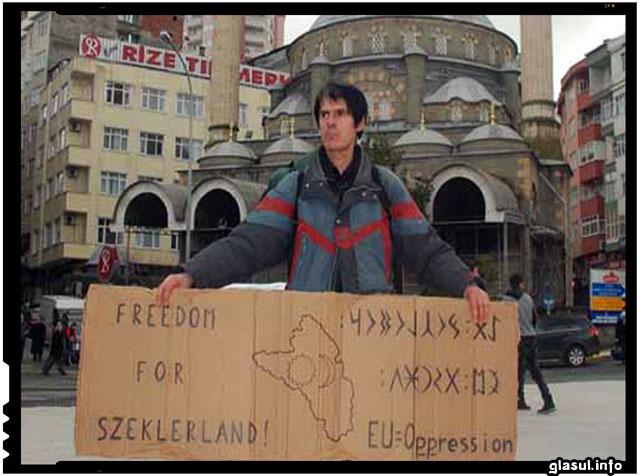 Dovada ca Rusia ar putea intr-advear sta in spatele miscarilor extremiste maghiare din Romania