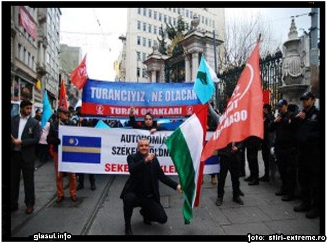 Ungurii din Istanbul cer autonomie pentru Ţinutul Secuiesc., sursa foto: stiri-extreme.ro