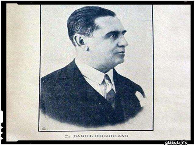 Dr. DANIEL CIUGUREANU, marele patriot roman basarabean care avut un rol crucial in realizarea Unirii Basarabiei cu ROMANIA