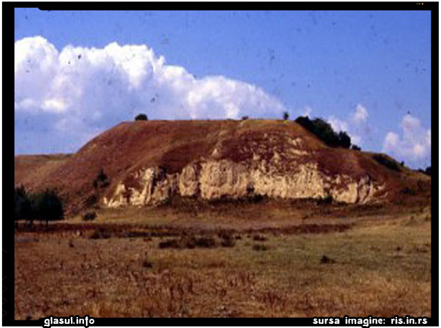 """Cetatea dacica """"Jidova"""" din regiunea Biserica Alba, foto: www.ris.in.rs"""