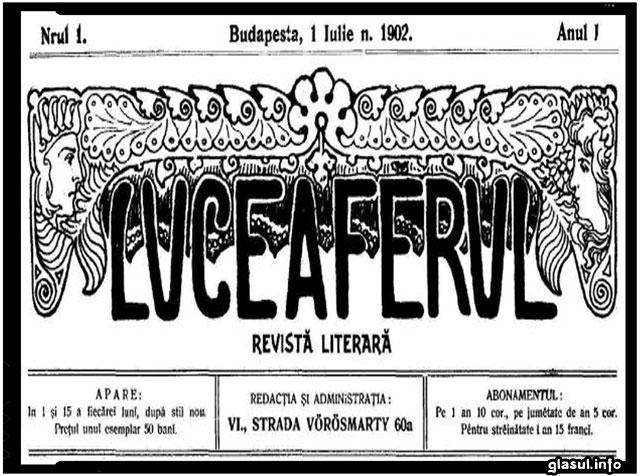 """ISTORIE. Cum au constituit studentii romani din Budapesta Revista """"Luceafarul"""", foto: Mária Berényi"""