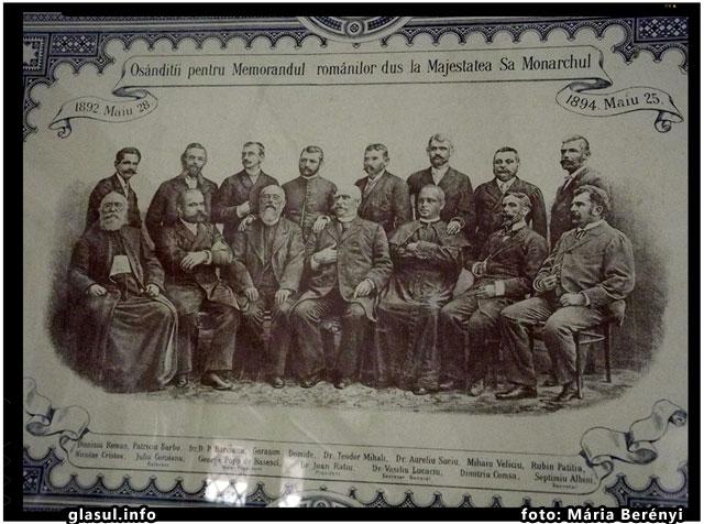 ÎN 25 MAI 1894 AU FOST CONDAMNAŢI LA CLUJ MEMORANDIŞTII, foto: Mária Berényi