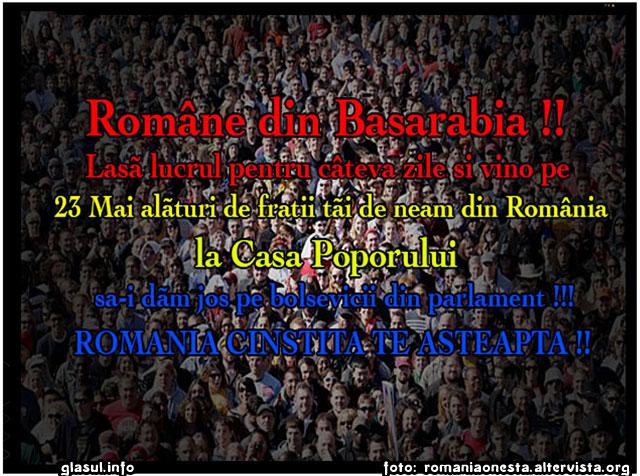 Romanii moldoveni din Basarabia raspund la chemarea Tarii alaturi de diaspora romaneasca!, foto: romaniaonesta.altervista.org
