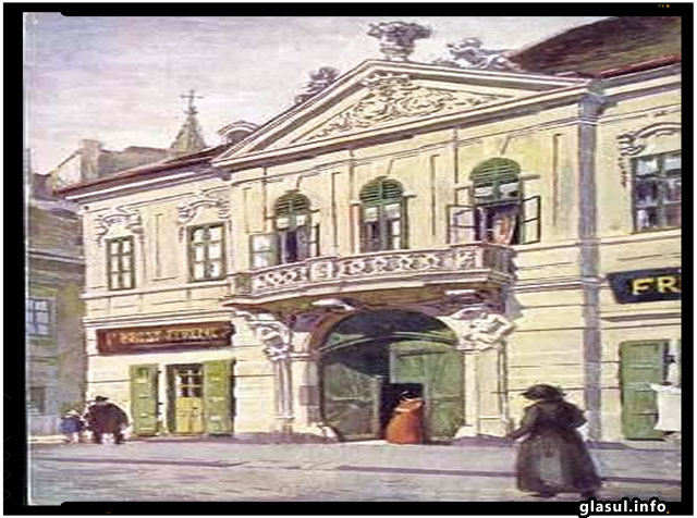 CASA GRABOVSKY IN JURUL ANILOR 1900. (CARTE POSTALA), foto: Mária Berényi