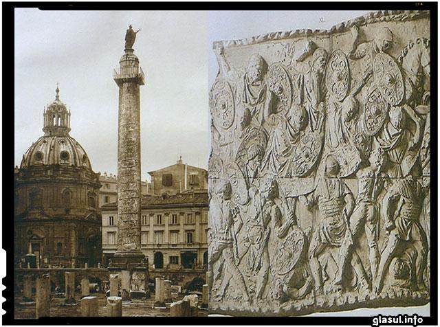 Pe 12 mai 113 a fost inaugurata in forumul roman Columna lui Traian