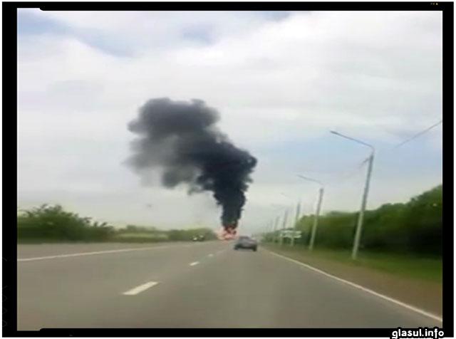 """Ajutoarele """"umanitare"""" trimise de rusi in estul Ucrainei au prostul obicei de a exploda!"""