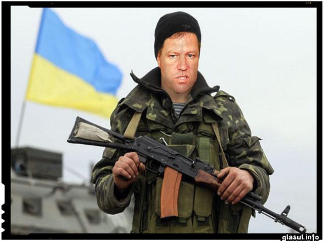 """Cu putin """"noroc"""", Klaus Johannis ar fi putut ajunge sa lupte impotriva rebelilor pro-rusi"""