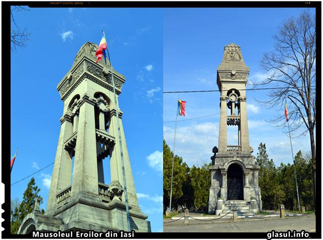 Mausoleul Eroilor din Iasi - Pentru mortii necunoscuti - 21 Mai : Ziua Eroilor