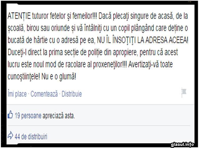Un mesaj a creat isterie pe Facebook in randul femeilor!