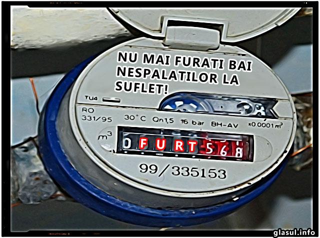 Nespalati la suflet care fura avand bransamente ilegale pentru apa: deputat, secretar de stat in ministerul Economiei, angajat ANAF, executor judecatoresc, vicepresedinte de partid