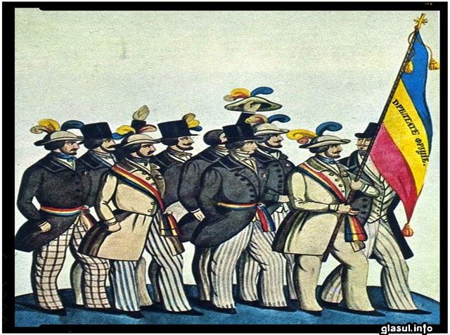 9 iunie 1848: Inceputul revolutiei pasoptiste in Muntenia. Ion Heliade Radulescu citește Proclamatia de la Islaz, programul revolutiei din Tara Romaneasca