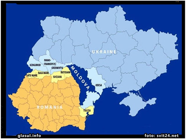 Scenarii de razboi intre Romania si Ucraina la care se gandeau rusii inca de acum patru ani! , foto: svit24.net