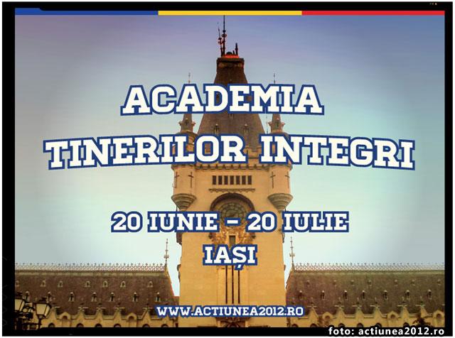 Actiunea2012 a lansat programul de voluntariat ACADEMIA TINERILOR INTEGRI, foto: actiunea2012.ro