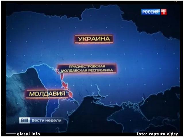 Presa rusa: Republica Moldova si Ucraina coopereaza pentru a sugruma Transnistria, foto: captura video