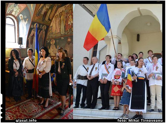 Drapelul Naţional în Ţinutul Românesc din Harghita şi Covasna, foto: Mihai Tirnoveanu