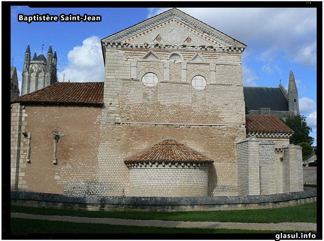 Baptistère Saint-Jean, Poitiers, Franta