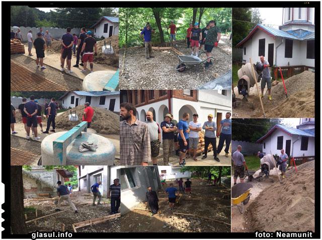 Galeriile de suporteri din Romania s-au unit pentru a ajuta copiii din Valea Plopului, foto: Neamunit