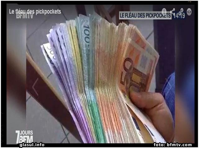 Turnul Eiffel se afla sub asaltul hotilor de buzunare din Romania, foto: bfmtv.com