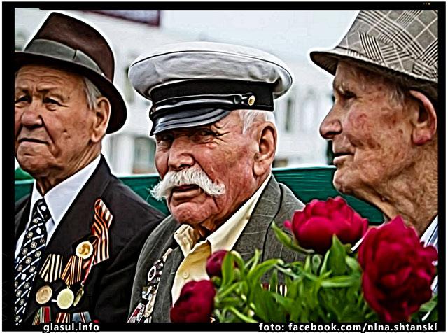 Veterani sovietici fabricati la comanda in Republica Moldova, foto: fb.com/nina.shtanski