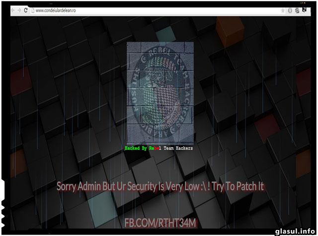 Site-ul ziarului ziarului românesc Condeiul Ardelean a fost spart de hackeri