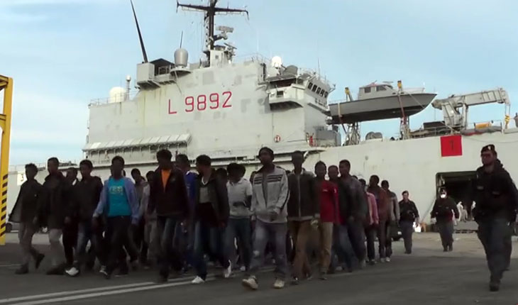 Romania se ofera sa primeasca 2000 de imigranti clandestini, foto: captura youtube