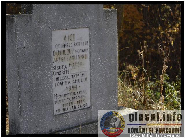 Povestea reală si cutremurătoare a notarului din Doboi, omorât de unguri în anul 1944, foto: Mihai Tirnoveanu