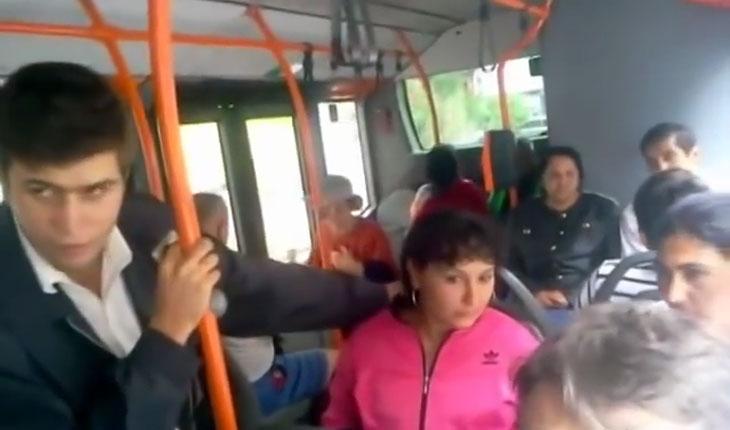 Statul roman discrimineaza tiganii pe mijloacele de transport in comun! Controlorii refuza sa le verifice tiganilor biletele