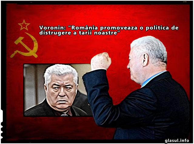 """Voronin se plange Parlamentului European: """"România promovează o politică de distrugere a țării noastre"""""""