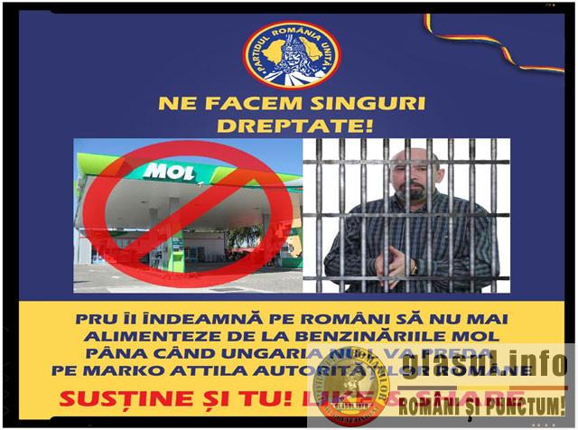 """Bogdan Diaconu: """"Vom demara o campanie de boicotare a companiilor și a produselor ungurești ca reacție la faptul că Ungaria nu îl predă pe Marko Attila"""", foto: facebook.com/MihaiBogdanDiaconu"""