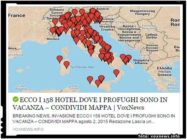 160 de hoteluri din Italia sunt pline cu imigranti clandestini, foto: voxnews.info