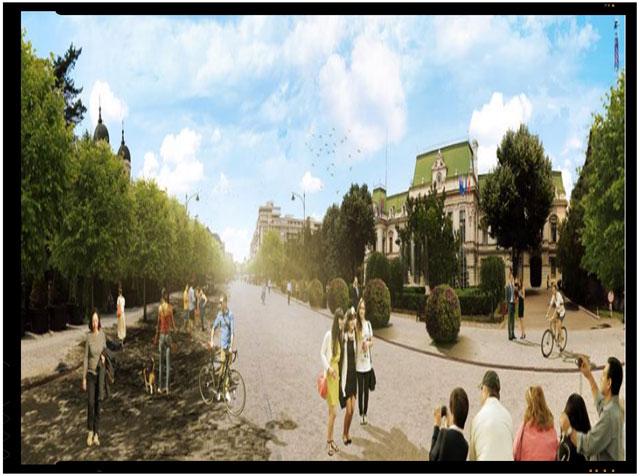 Ieșenii cer din nou replantarea teilor în centrul orașului