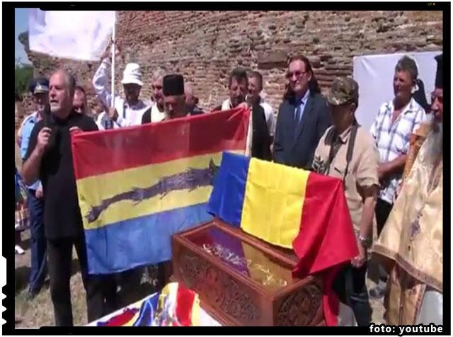 Comemorare la Manastirea Plaviceni, discursul generalului Mircea Chelaru, foto: youtube