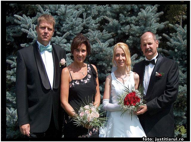 Klaus Iohannis este nasul de cununie al CONSULULUI AUSTRIEI, Andreas Huber, foto: justitiarul.ro