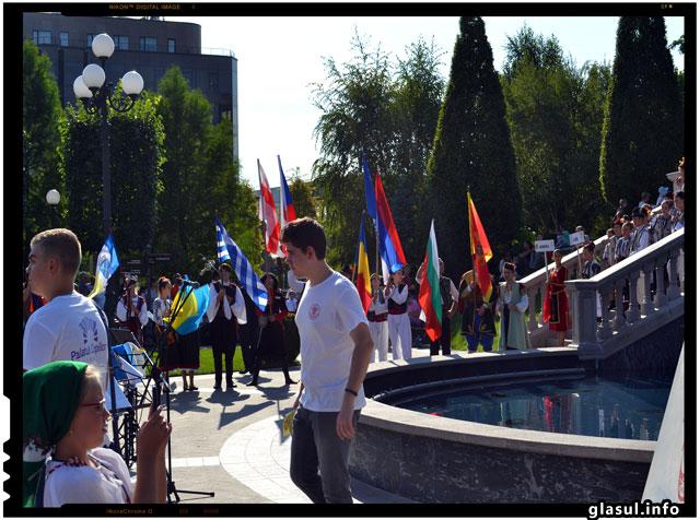 Parada de la Editia XXI a Festivalului International de Folclor Catalina IASI 2015