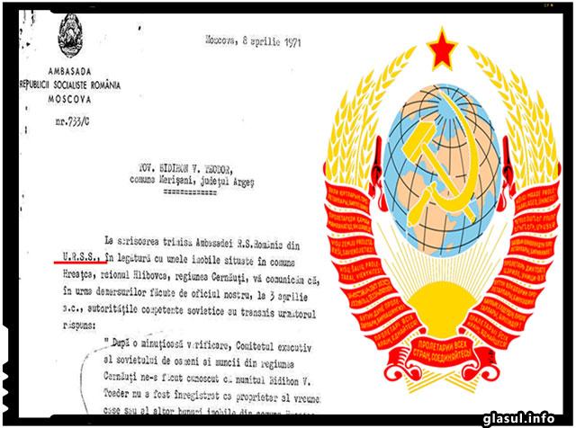 Un roman a avut curajul sa ceara despagubiri URSS-ului pentru locuinta si bunurile sale ramase in Herta