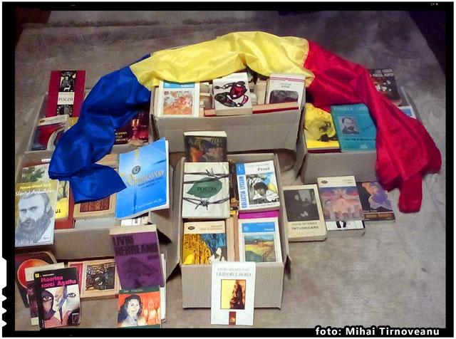 Actiunea Romani pentru Romani - Patrioti din Târgu Jiu au donat carti pentru copiii romani din Harghita si Covasna, foto: Mihai Tirnoveanu