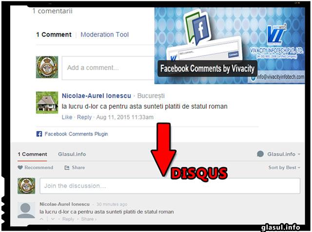 Cum sa exportati comentariile de pe Vivacity Facebook catre DISQUS
