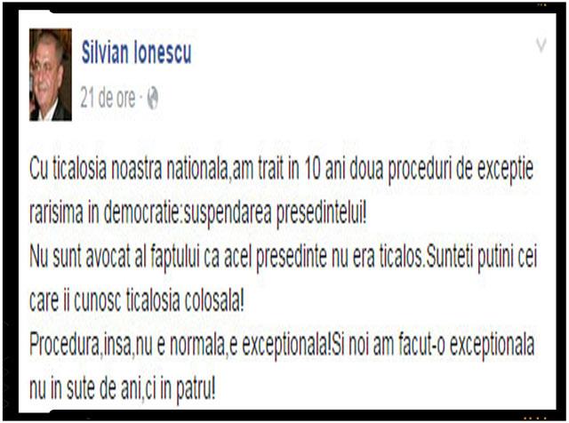 """Dezvaluire securistica despre Basescu: """"Sunteti putini cei care ii cunosc ticalosia colosala!"""""""