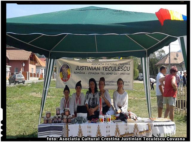 Asociatia Cultural Crestina Justinian Teculescu a organizat duminica, 30 august, Targul traditional de vara, foto: Asociatia Cultural Crestina Justinian Teculescu Covasna