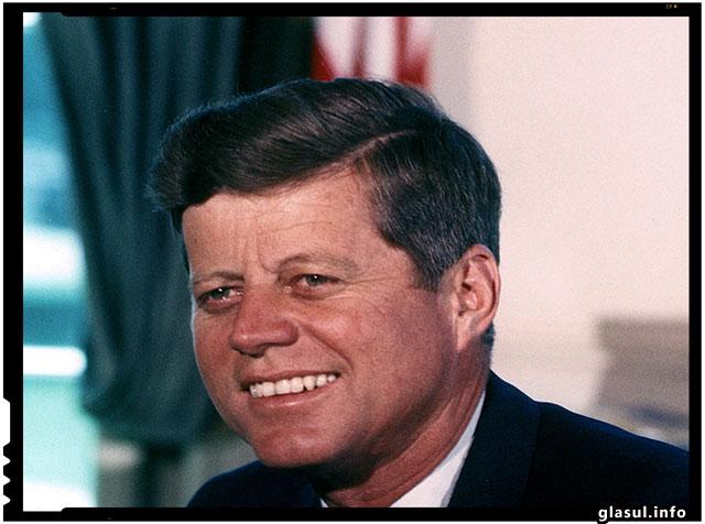 Singurul presedinte care a avut curaj sa spuna adevarul, a murit pentru asta - J.F. Kennedy