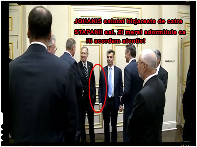 Johannis salutat birjareste de catre STAPANII sai. Zi mersi adormitule ca iti acordam atentie!, foto: captura youtube