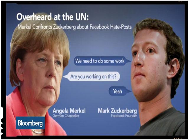 Revoltator: Merkel vrea sa-i lase fara slujbe si fara copii pe cei care nu doresc imigranti si posteaza mesaje negative pe Facebook, foto: captura youtube